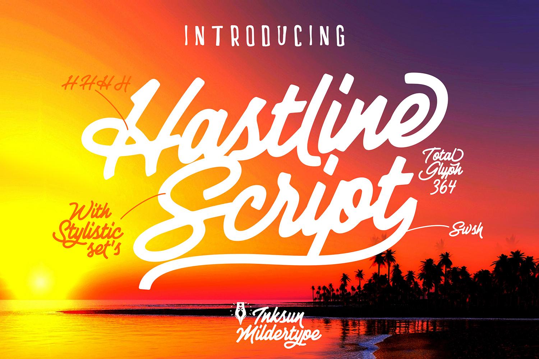 Hastline Script example image 3