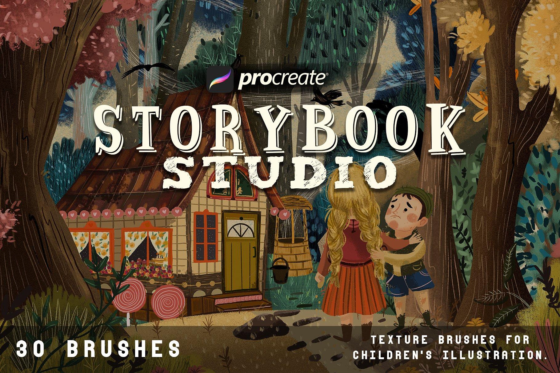 Storybook studio for Procreate example image 1