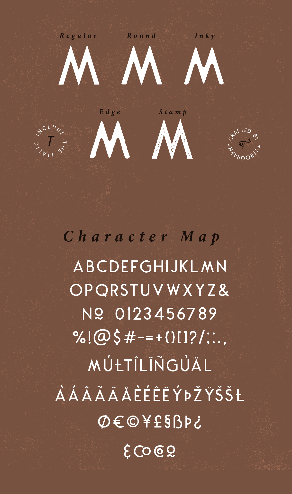 Montharo Typeface + Vector example image 10
