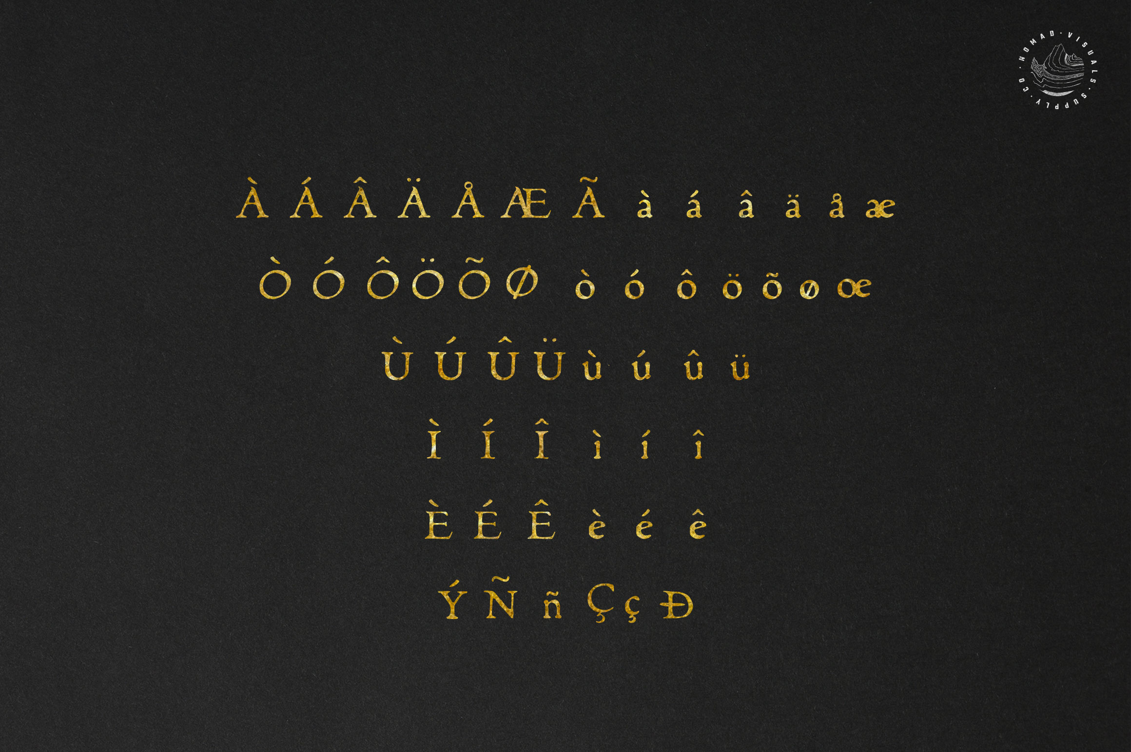 Alchemion Display Serif Font example image 5