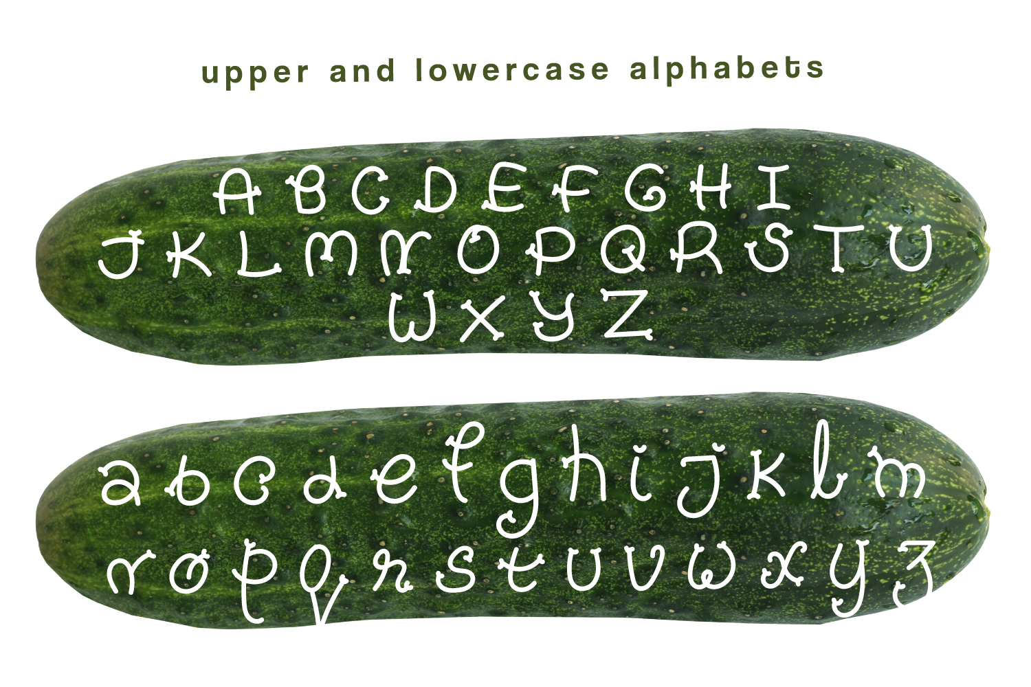 Pickles - Spicy Hand Drawn Font example image 3