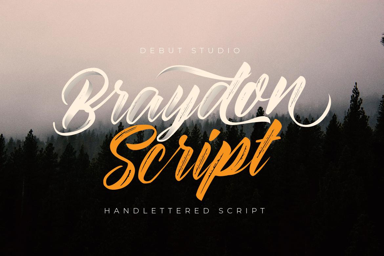 Braydon Script example image 3