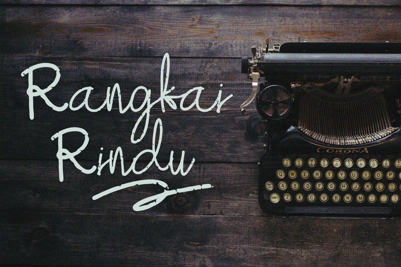 Mefika Vintage Script Font example image 5