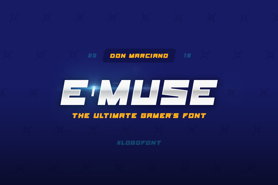 E-Muse Sports Font example image 1