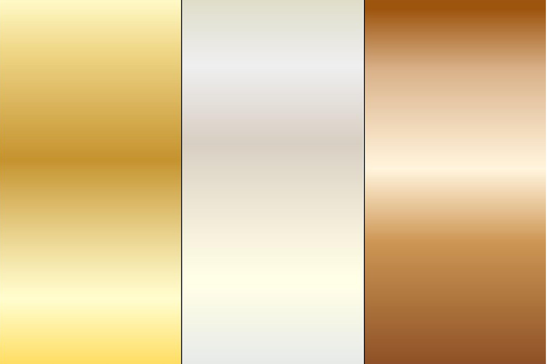 Gradient Metallic Backgrounds example image 3
