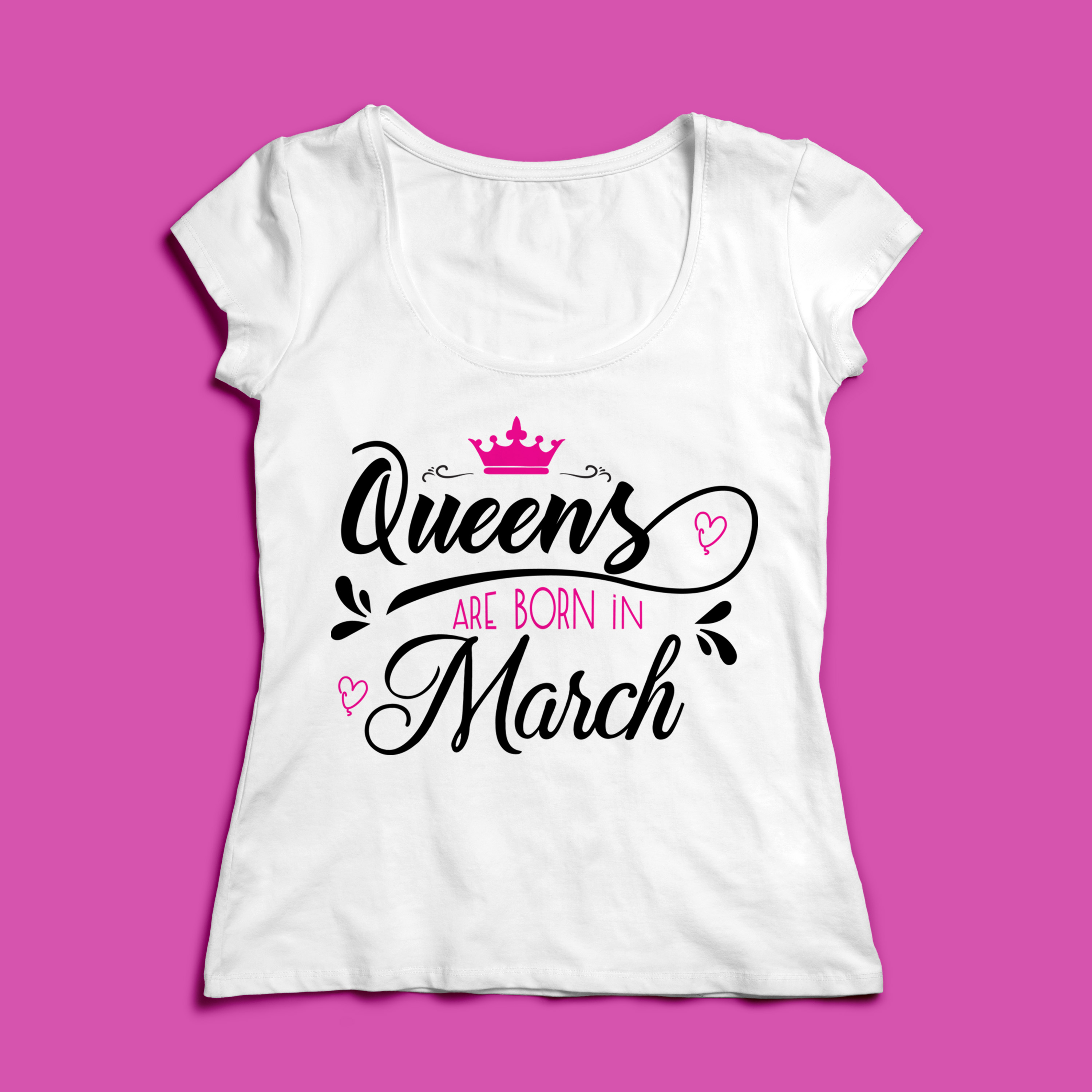 Queens are born in ... Every 12 months Svg,Dxf,Png,Jpg,Eps v example image 8
