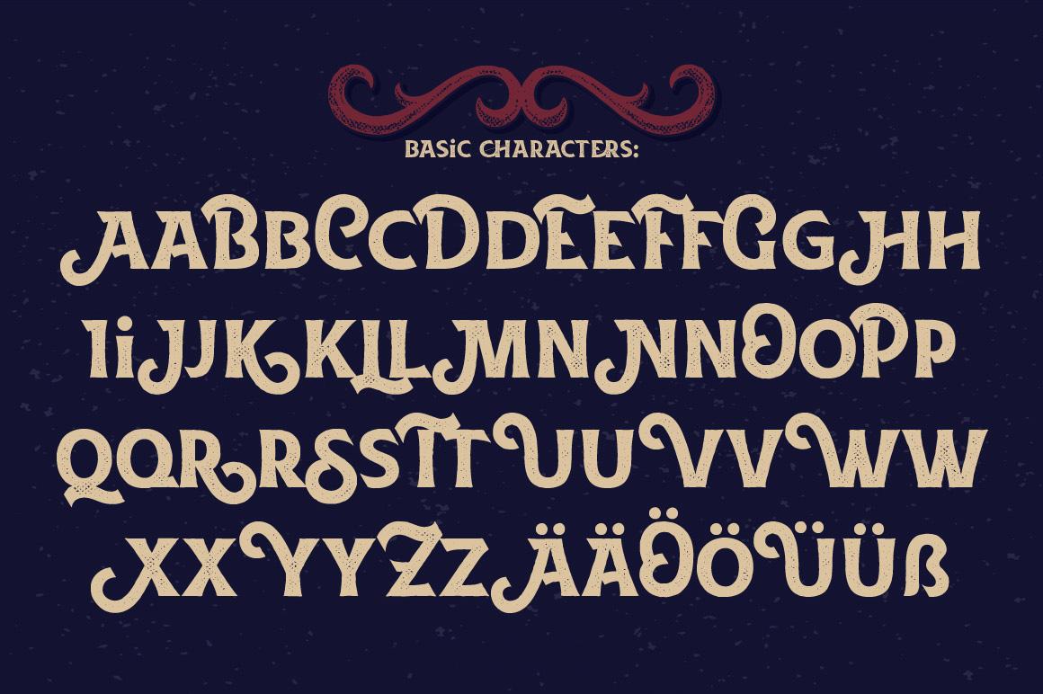 La Belman font & bonus example image 3