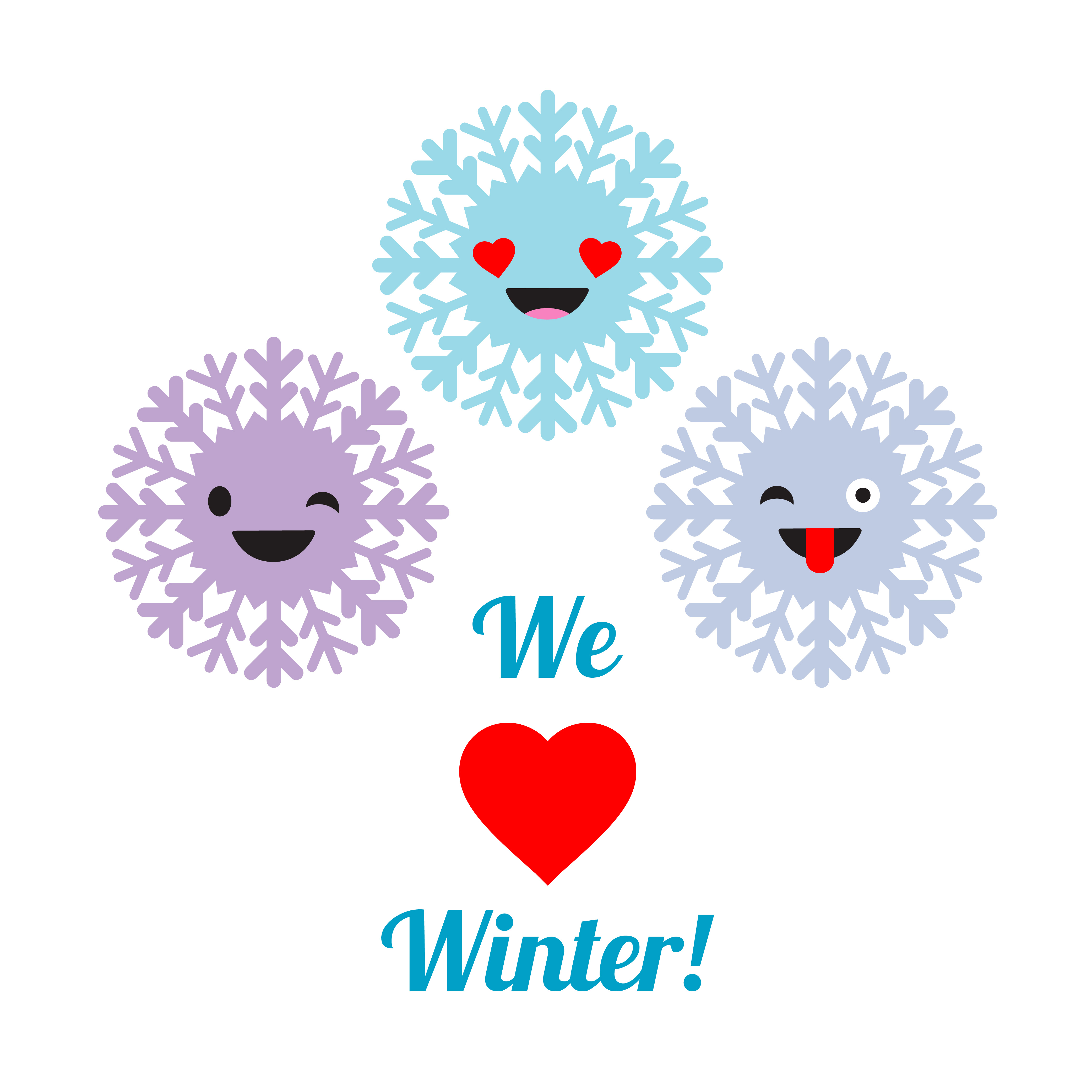 Banner We love Winter!  example image 1