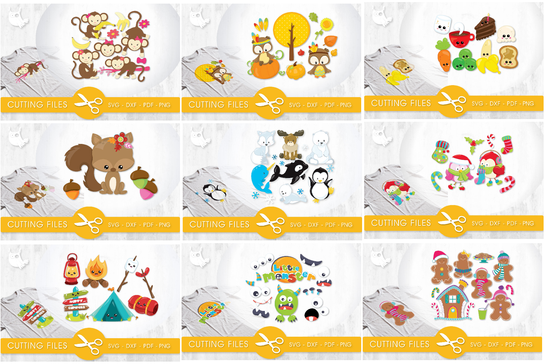 The AMAZING CRAFT BUNDLE, 1500 in 1, cutting file svg, dxf, example image 19