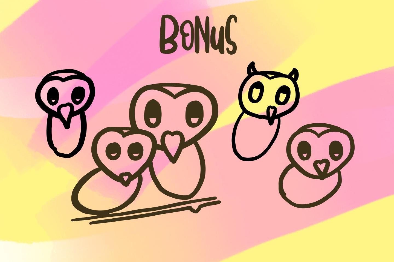 Sleepy Owl Fun Font example image 9