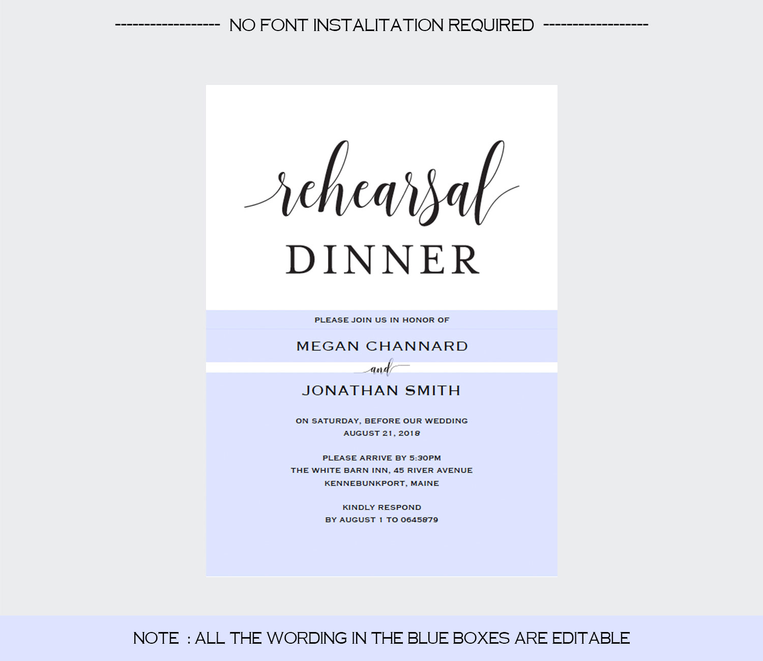 Rehearsal Dinner example image 3