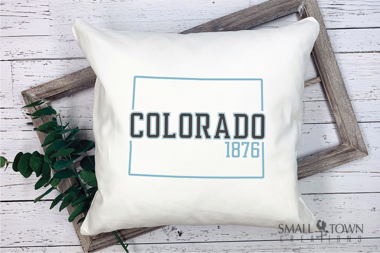 Colorado, Colorful - state slogan, Logo, PRINT, CUT & DESIGN example image 7