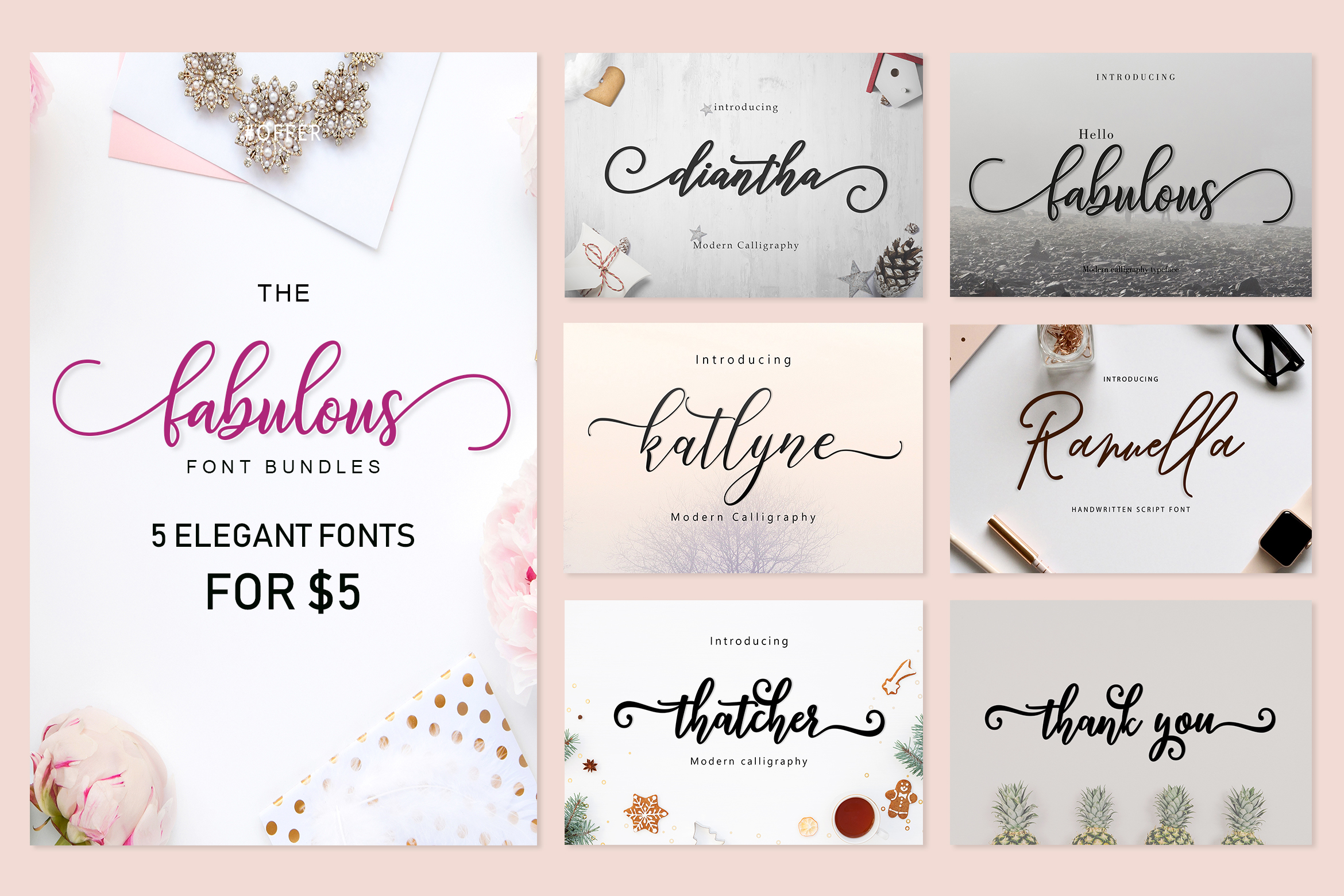 THE FABULOUS BUNDLES 5 FOR $5 example image 1