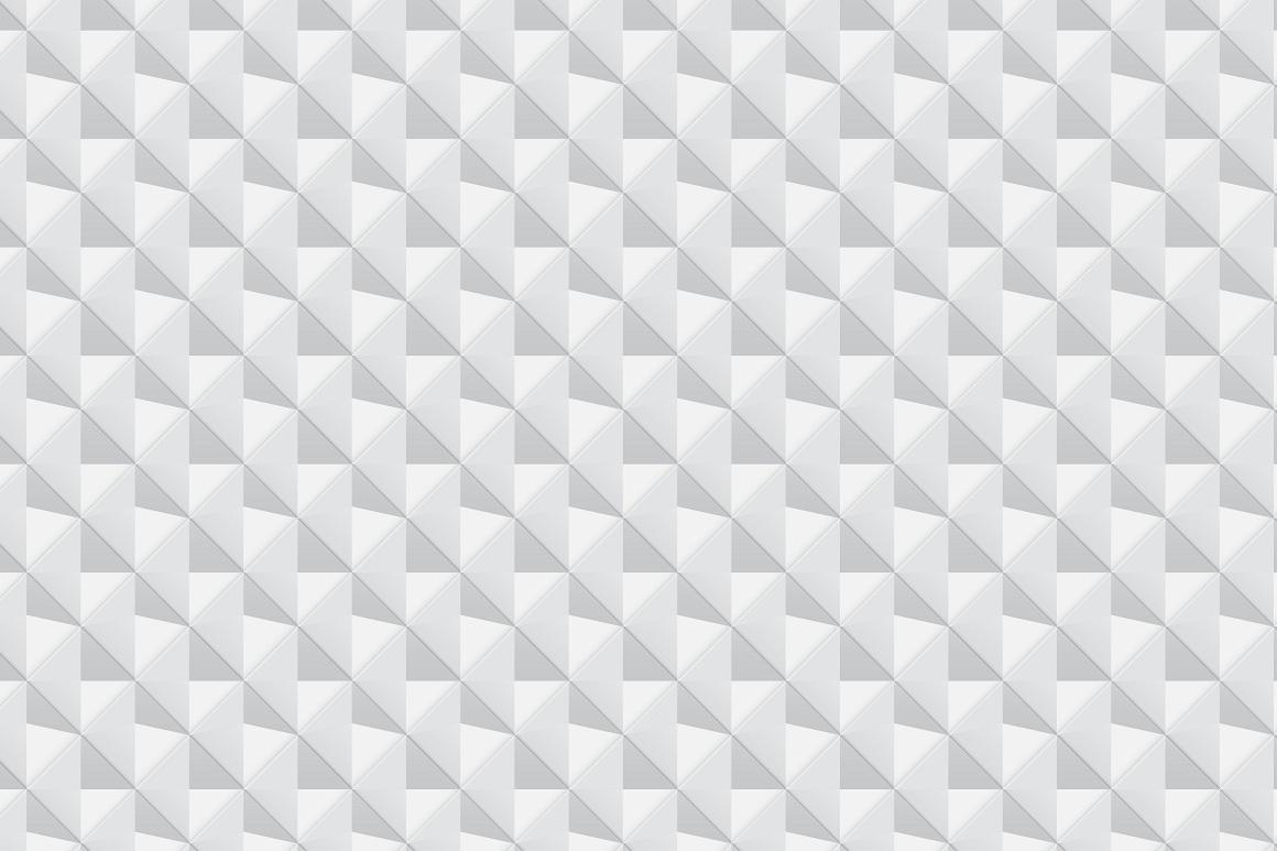 Decorative white seamless textures example image 5