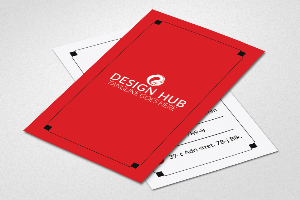 Vertical Business Cards example image 2