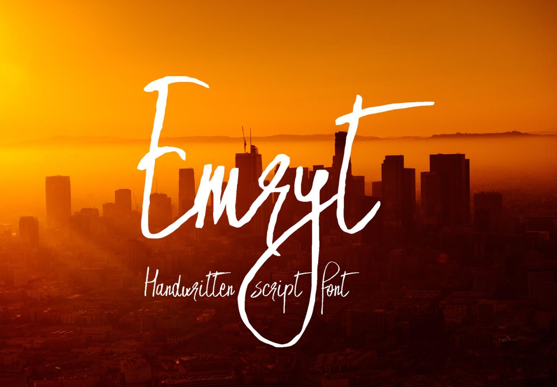 Emryt Font example image 1