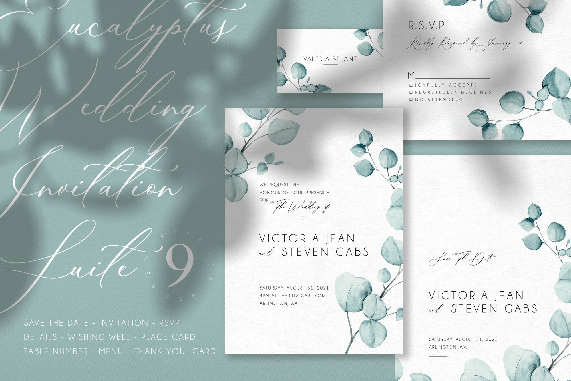 Eucalyptus - Wedding Suite example image 1
