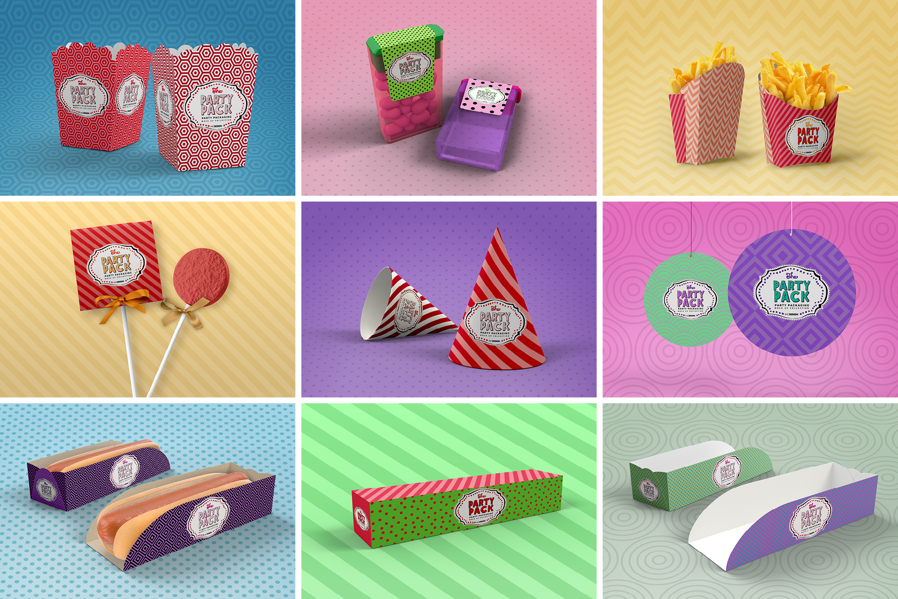 The Party Pack Mockup BUNDLE example image 4