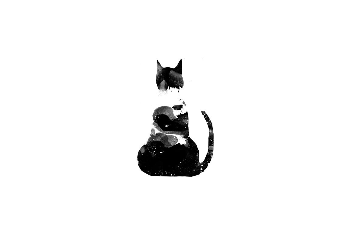 20 Illustration abstract Cats example image 21