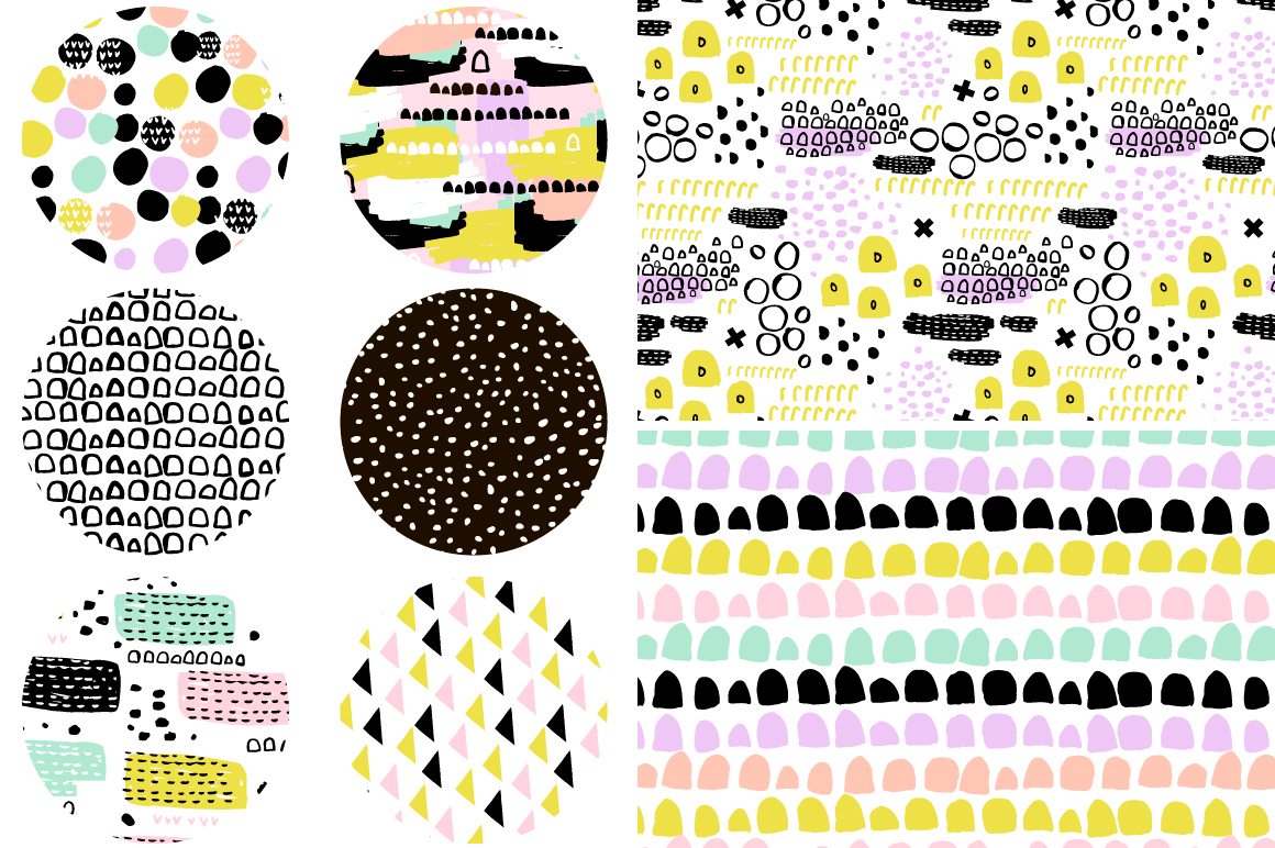 Abstract pattern pack vol.2 example image 2