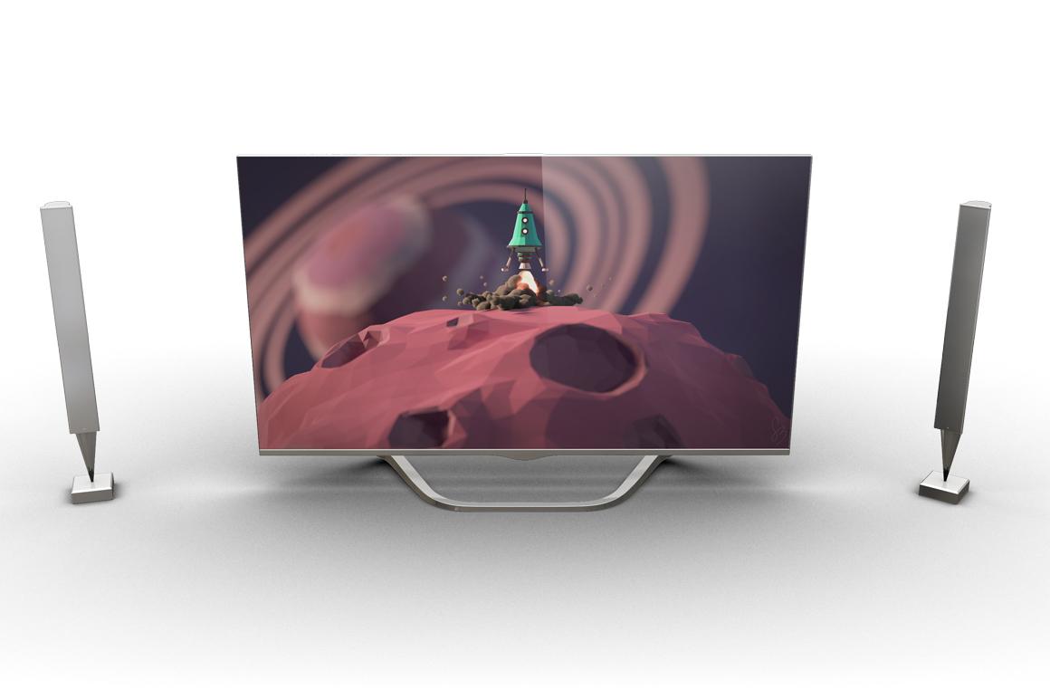 Smart TV Mockup example image 8