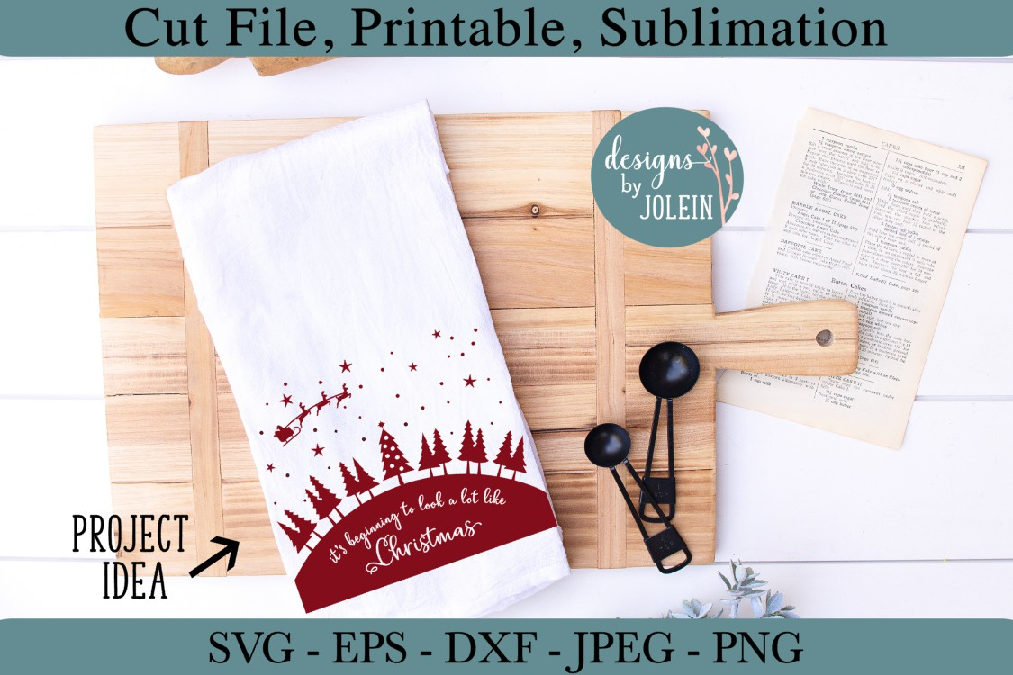 Look a lot like Christmas SVG, png, eps, DXF, sublimation example image 2
