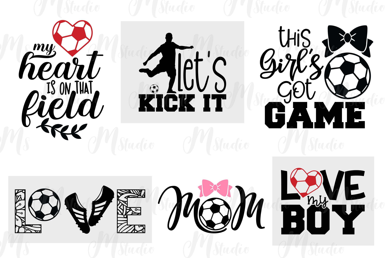 Soccer svg bundle example image 2