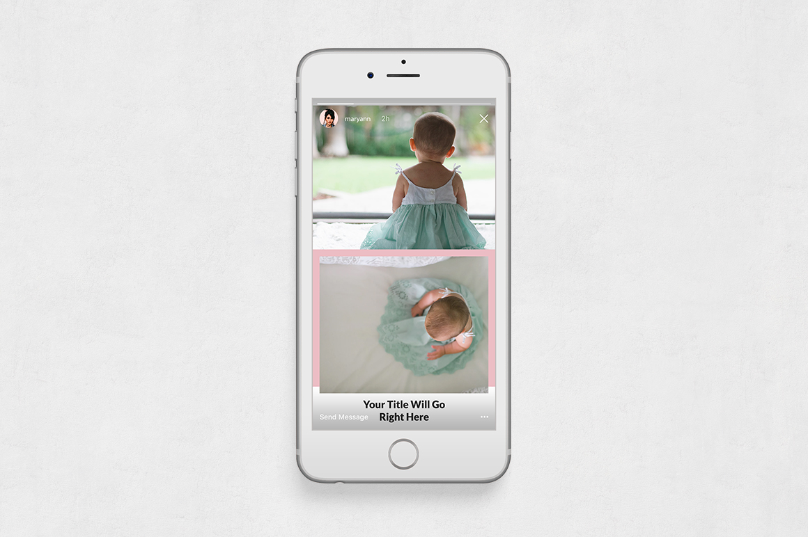 Baby Animated Instagram Stories example image 6
