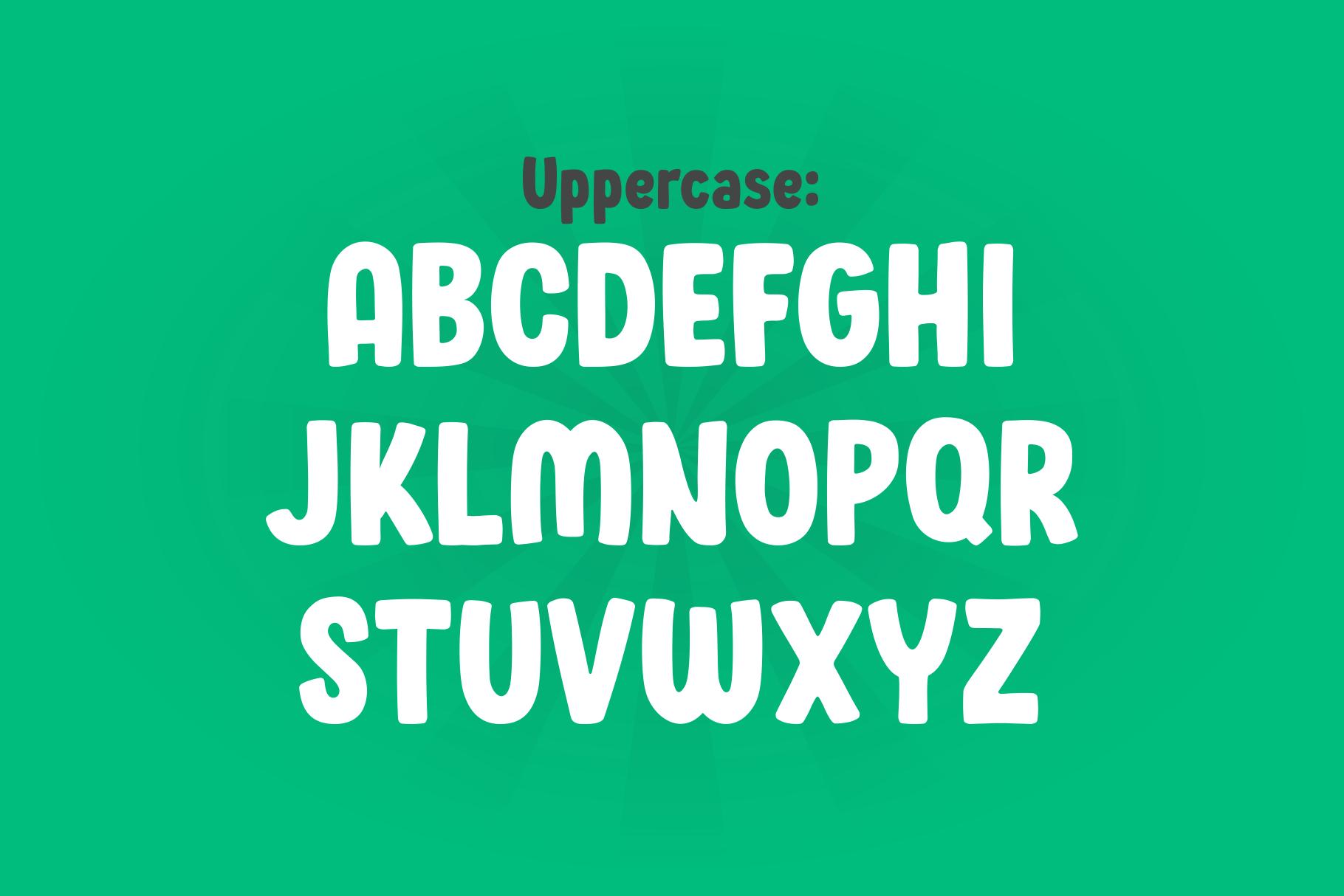 Wonder Boys - Fun Kids Font Display example image 8