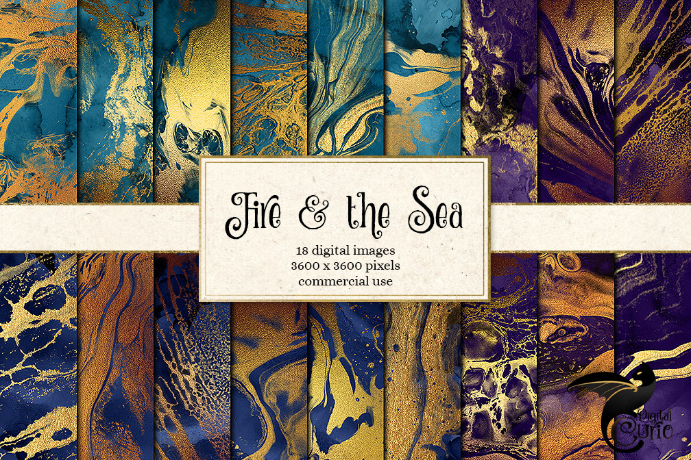 Fire and The Sea Textures example image 1