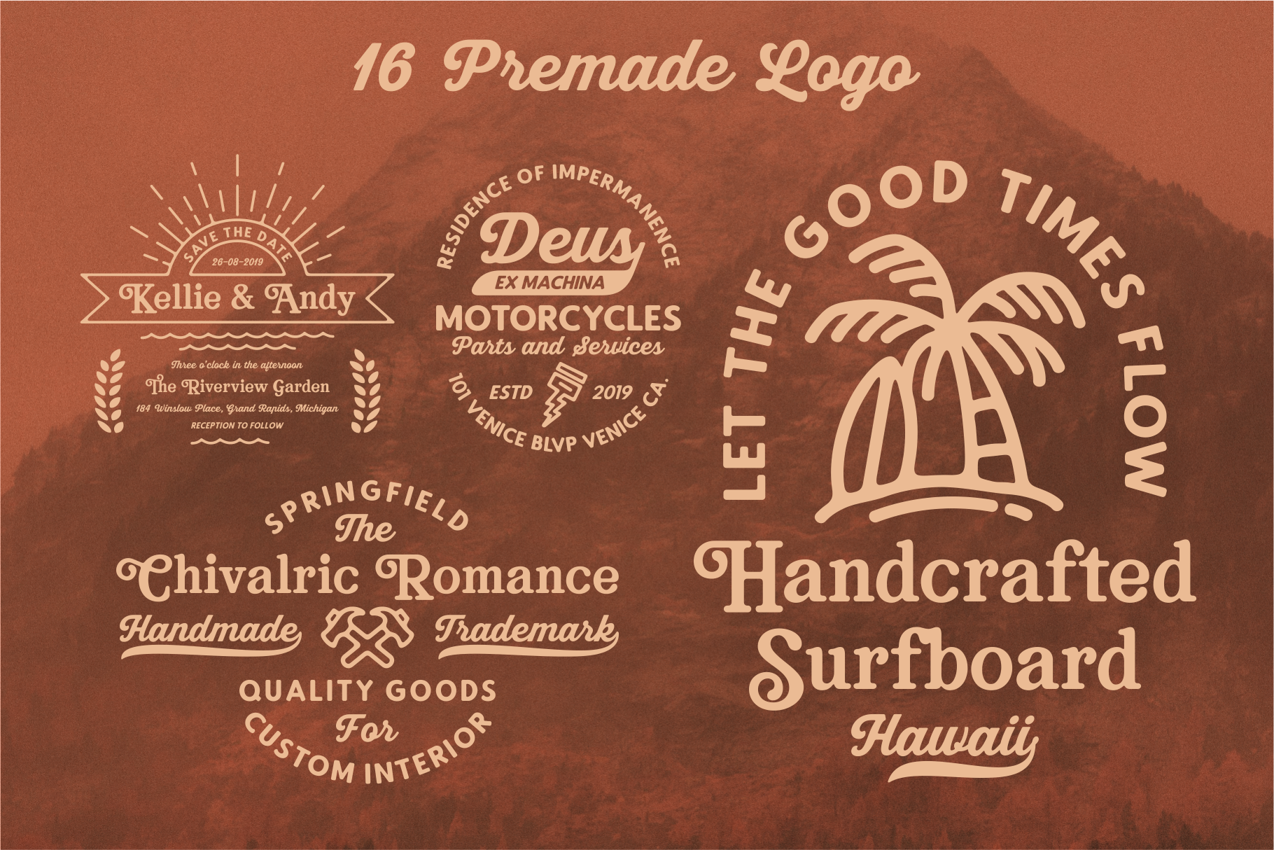 Bookman Font Collection example image 6