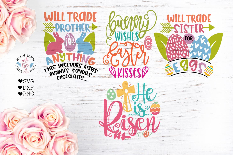 Easter Cut Files Bundle Ten Designs example image 3