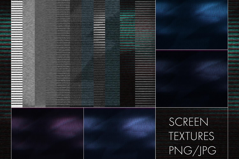 Retrowave NEON Flakes Scene Generator example image 10