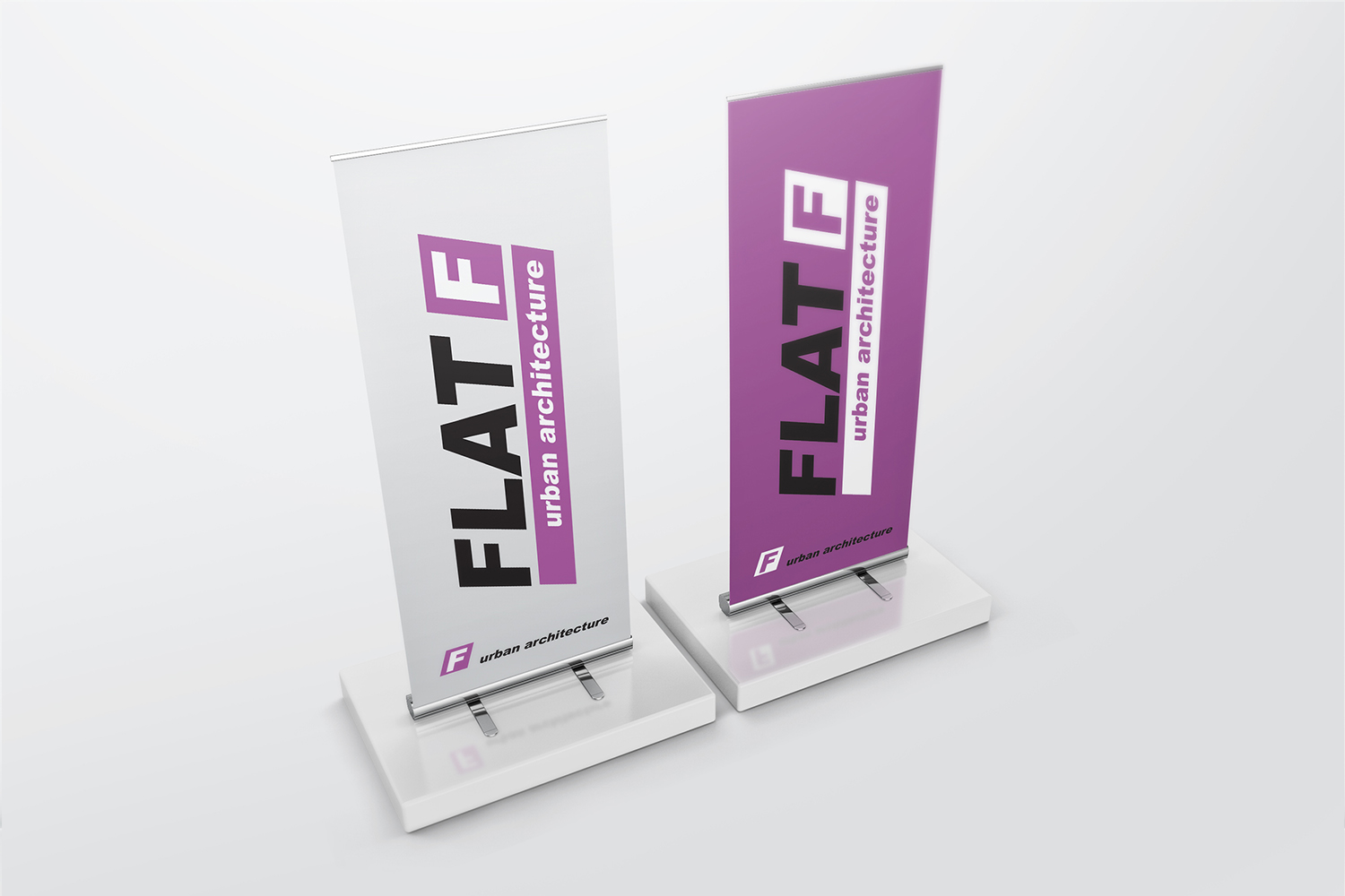 Roll Up Banner Mockups example image 10