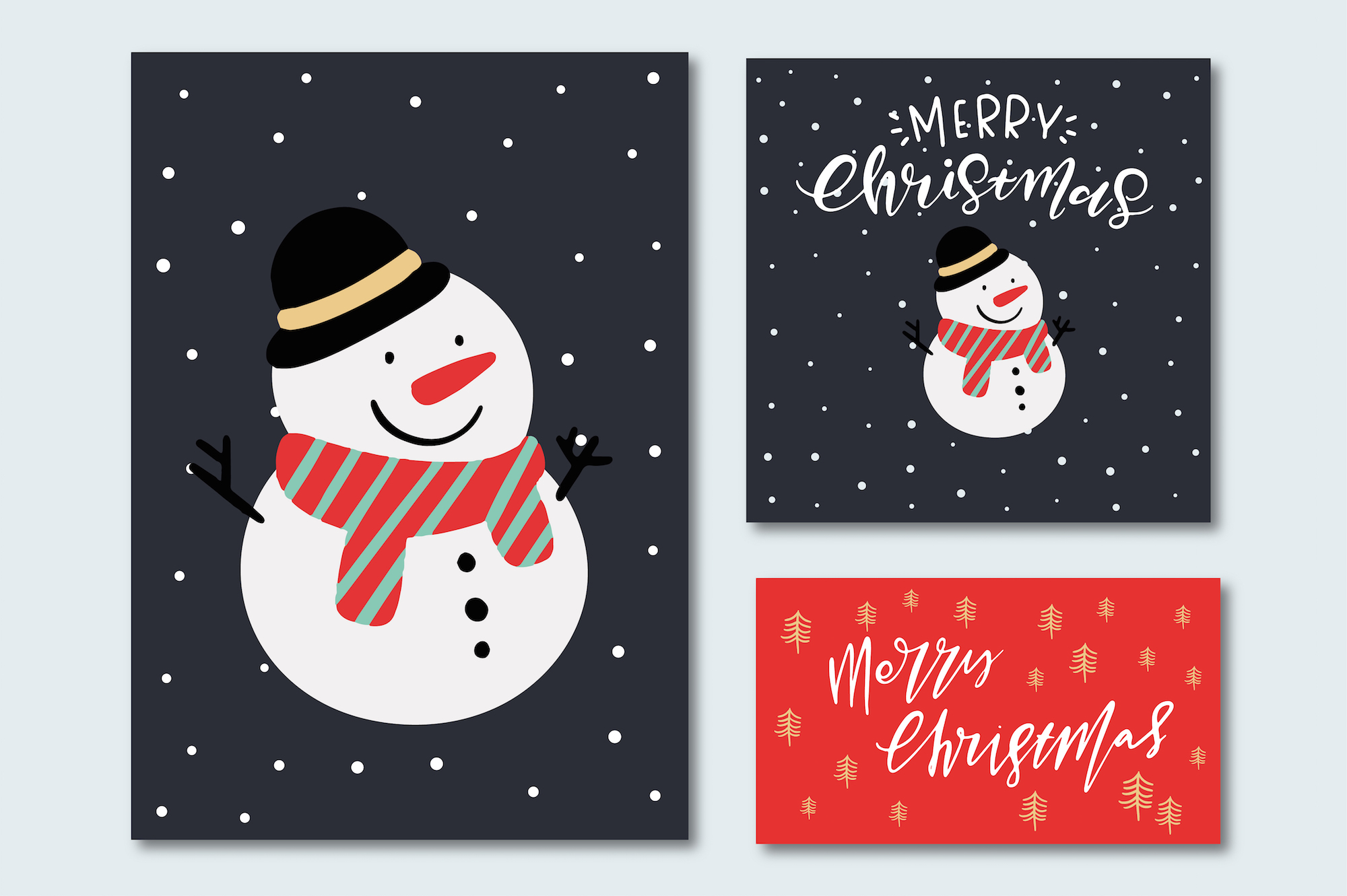 Merry Christmas Characters! example image 5