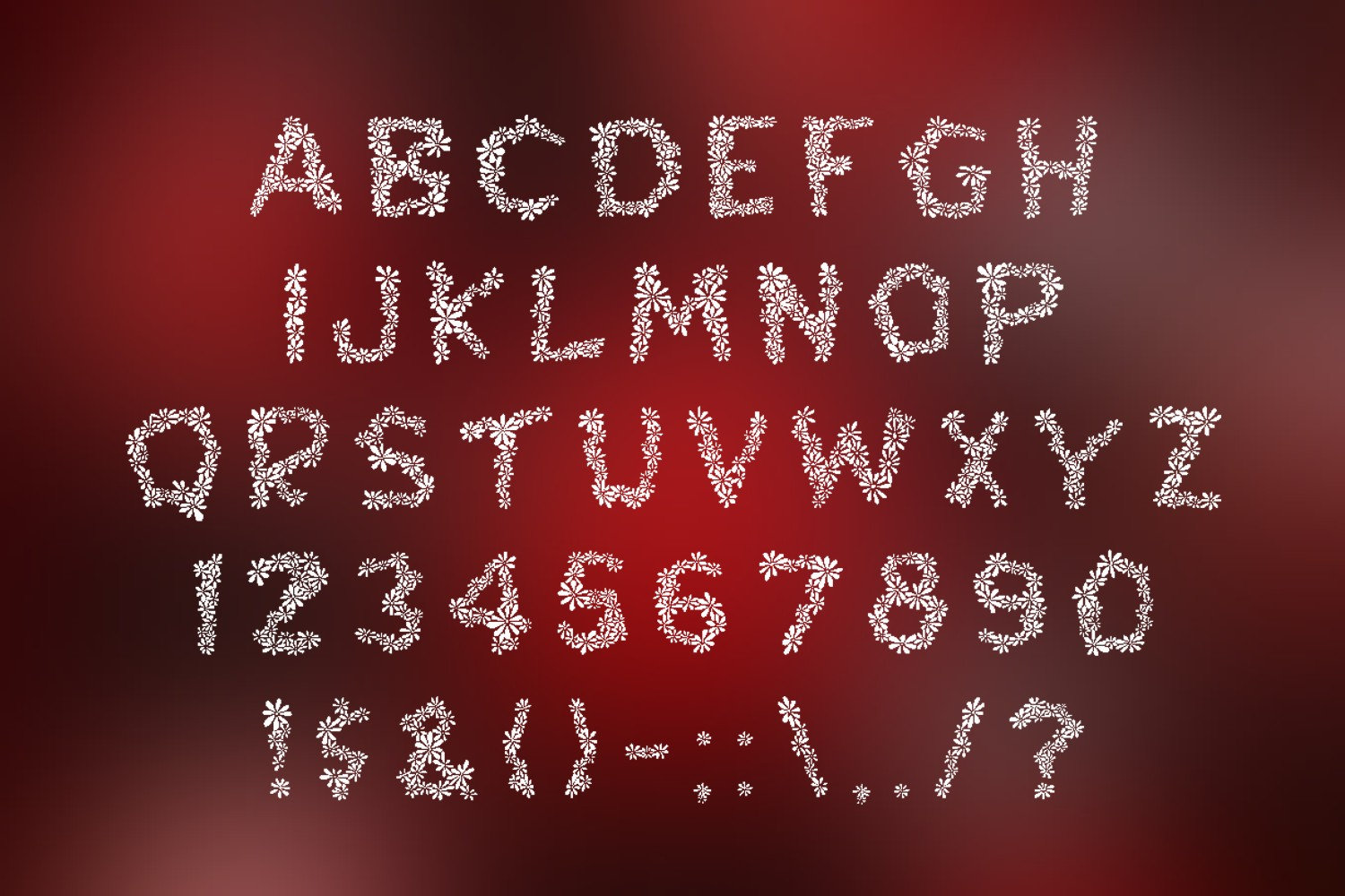 Chamylle font example image 6