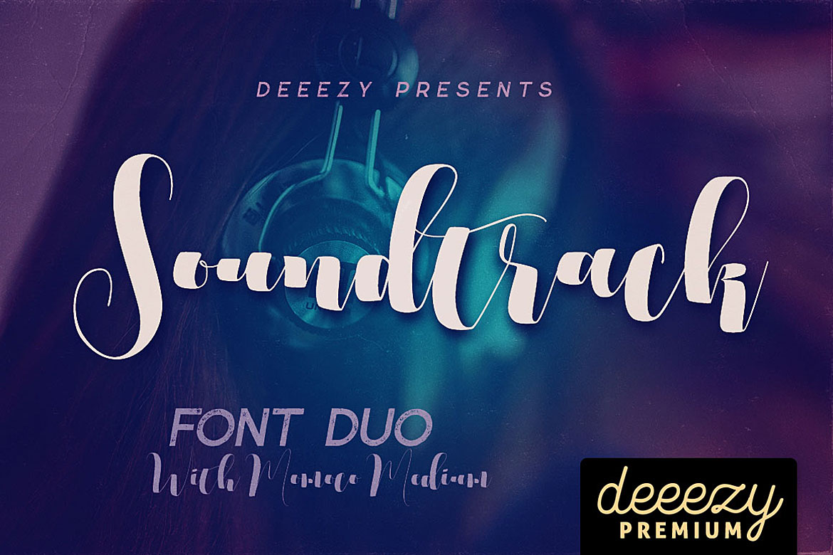 Soundtrack Font Duo example image 4