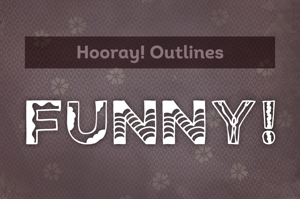Hooray! Hand drawn font example image 4