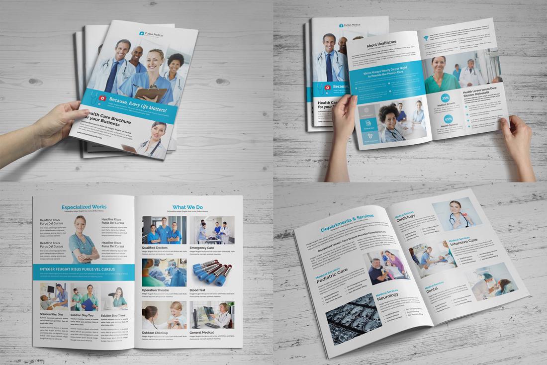 Medical HealthCare Brochure Bundle example image 4