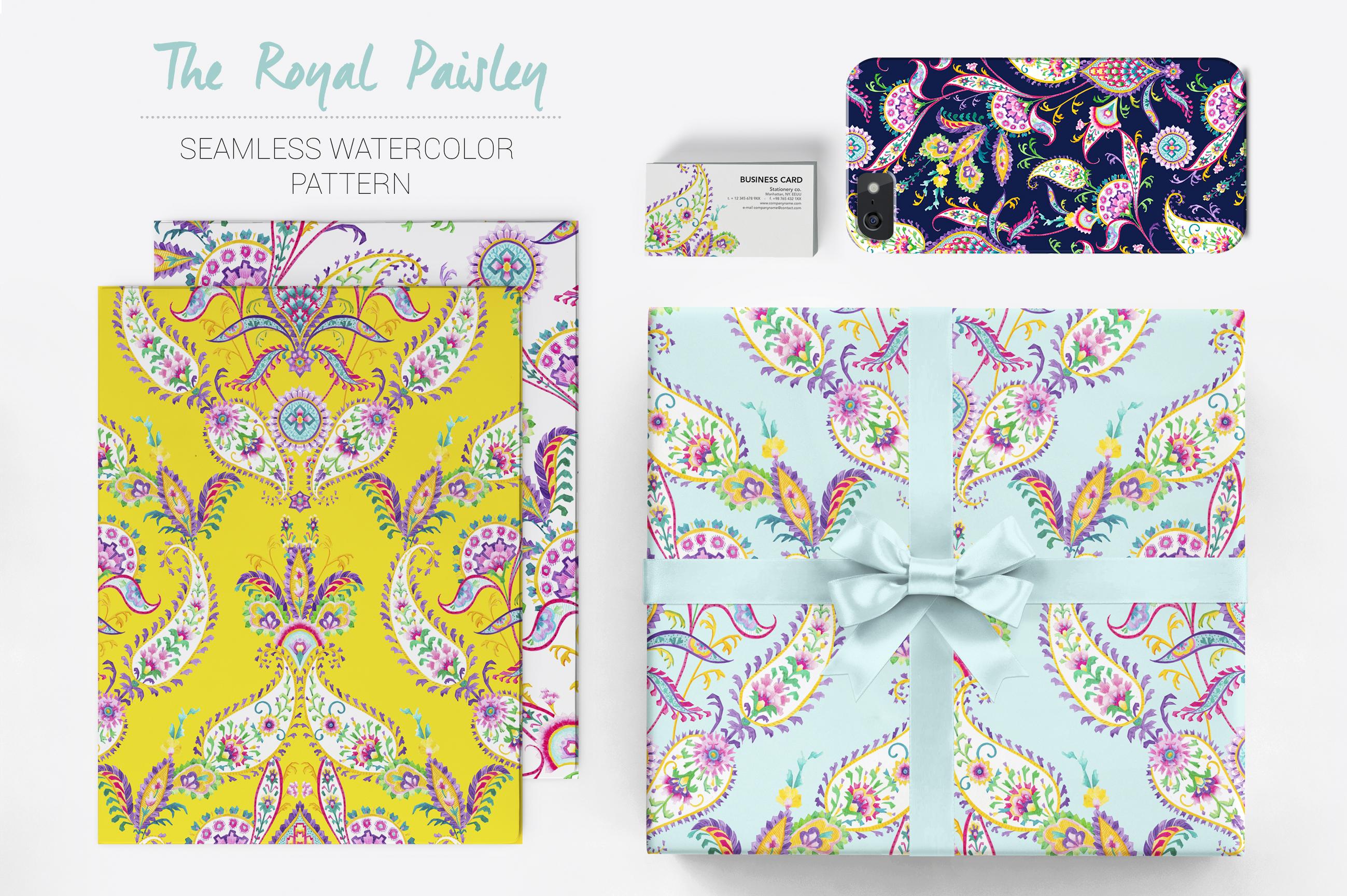 Royal Paisley example image 6