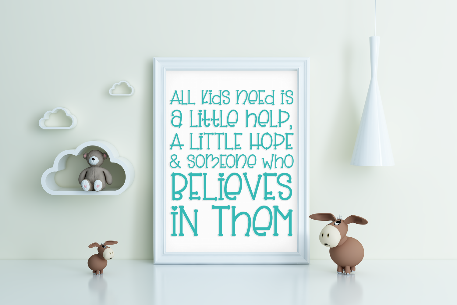 Slinky Bear - a cute handwritten font example image 4