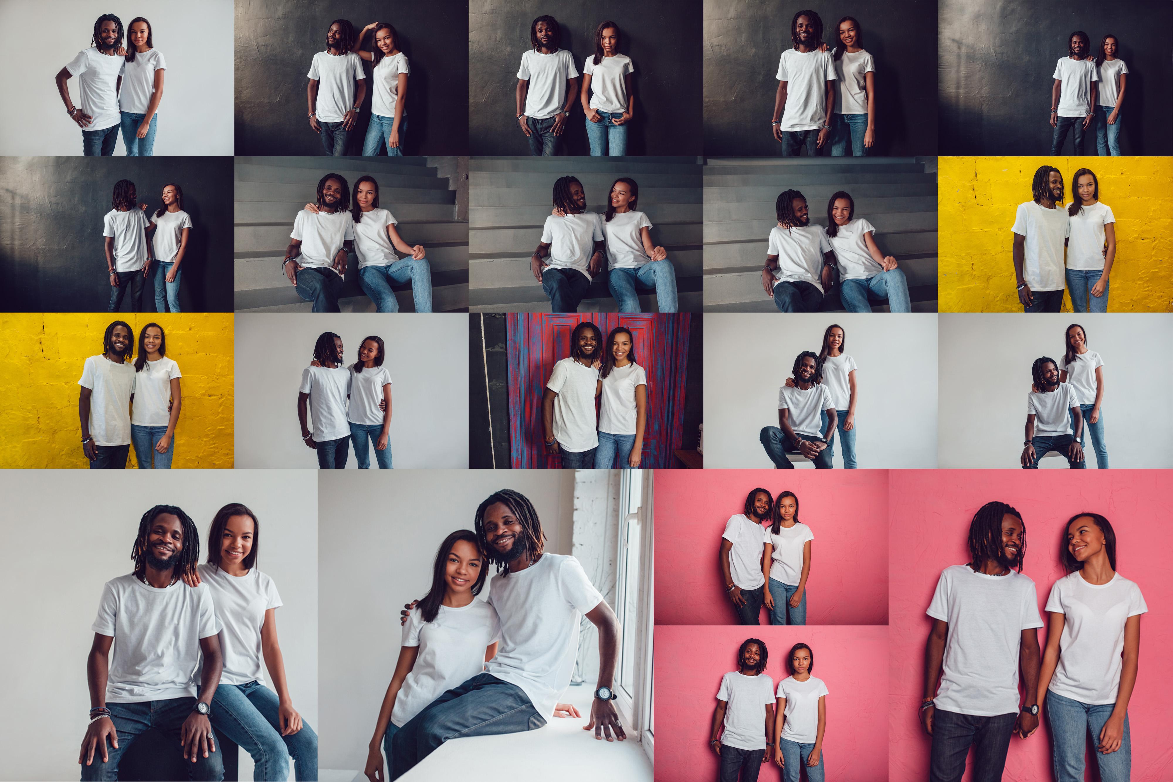 T-Shirt Mock-Up 2018 #1 example image 20