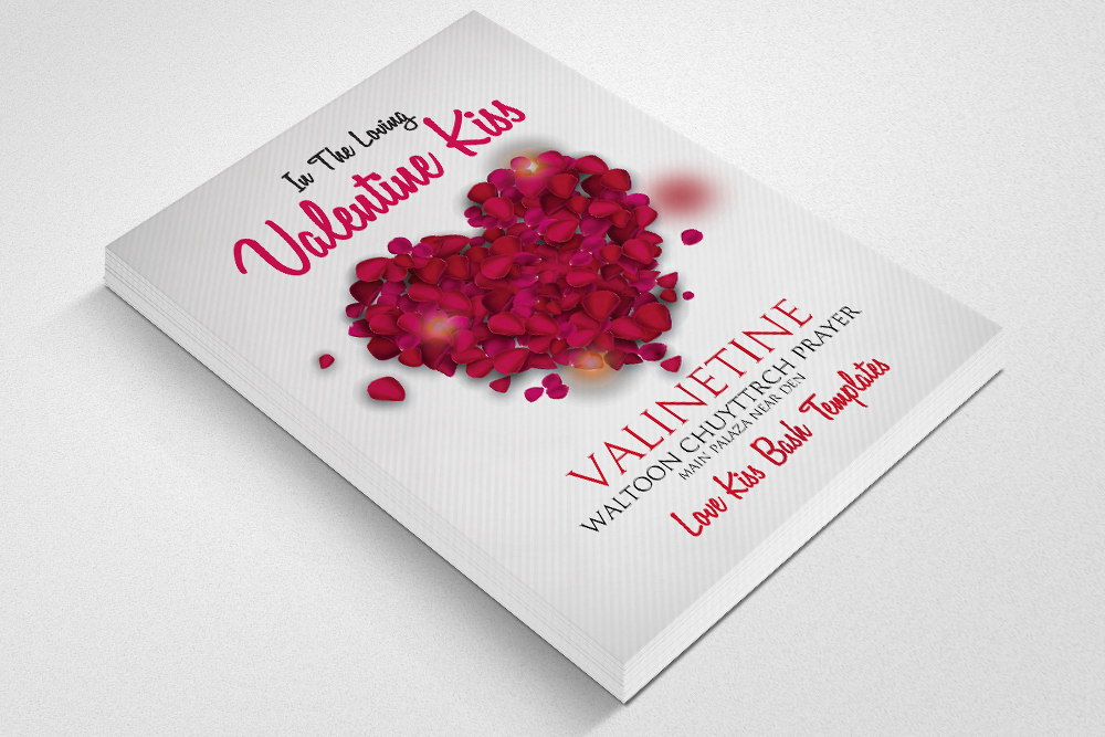 Valentine Event Flyer Psd example image 2