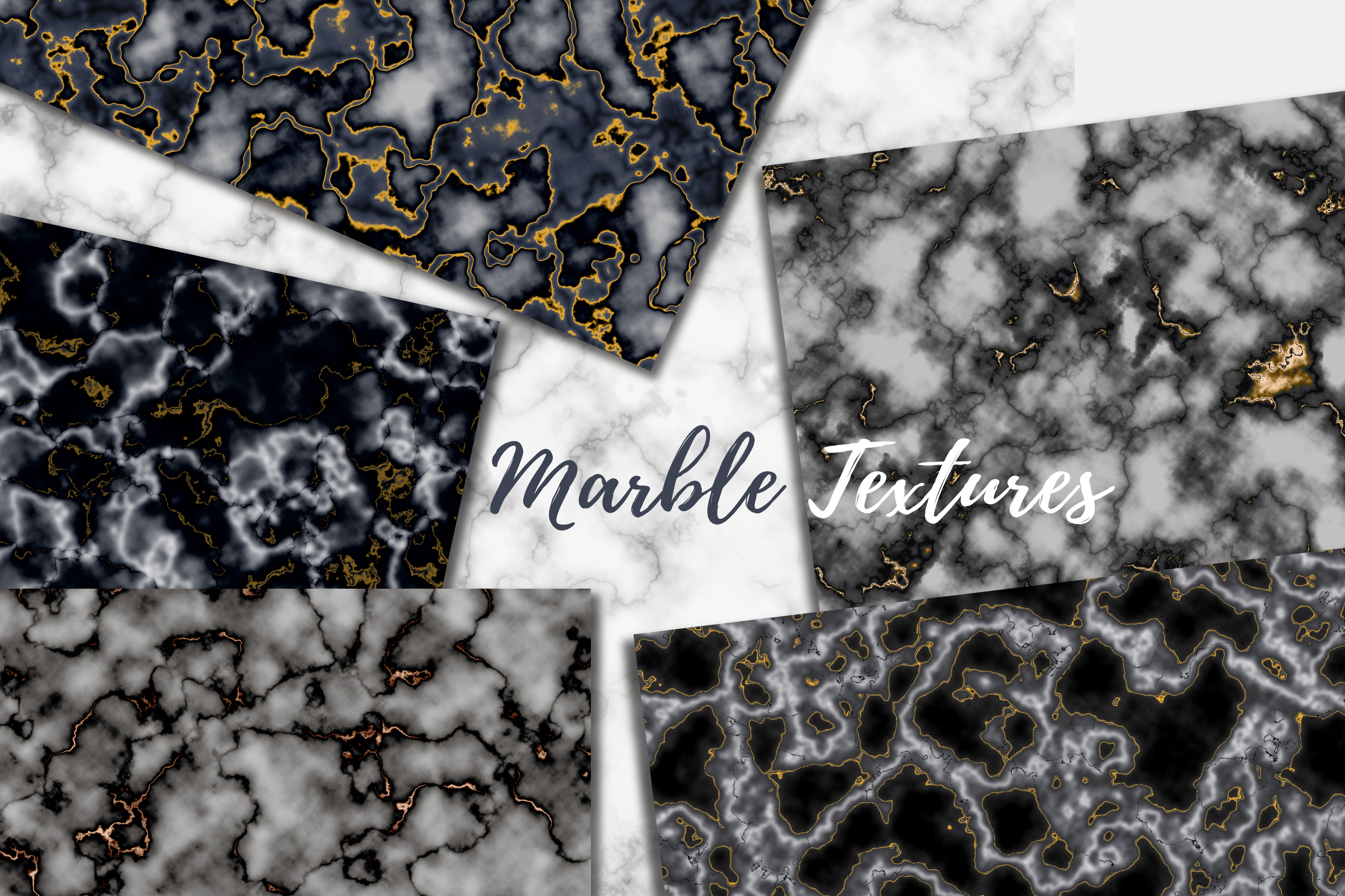 30 Realistic Marble Textures - JPG example image 4