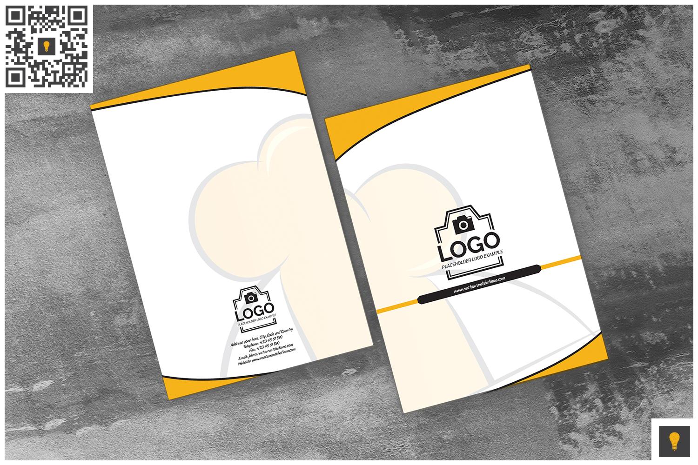 Restaurant Chefinno Branding Bundle (50% OFF) example image 14
