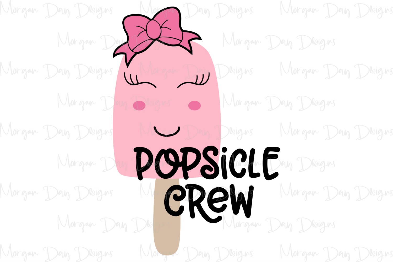 Popsicle Crew - Summer - Kids SVG, DXF, AI, EPS, PNG, JPEG example image 2