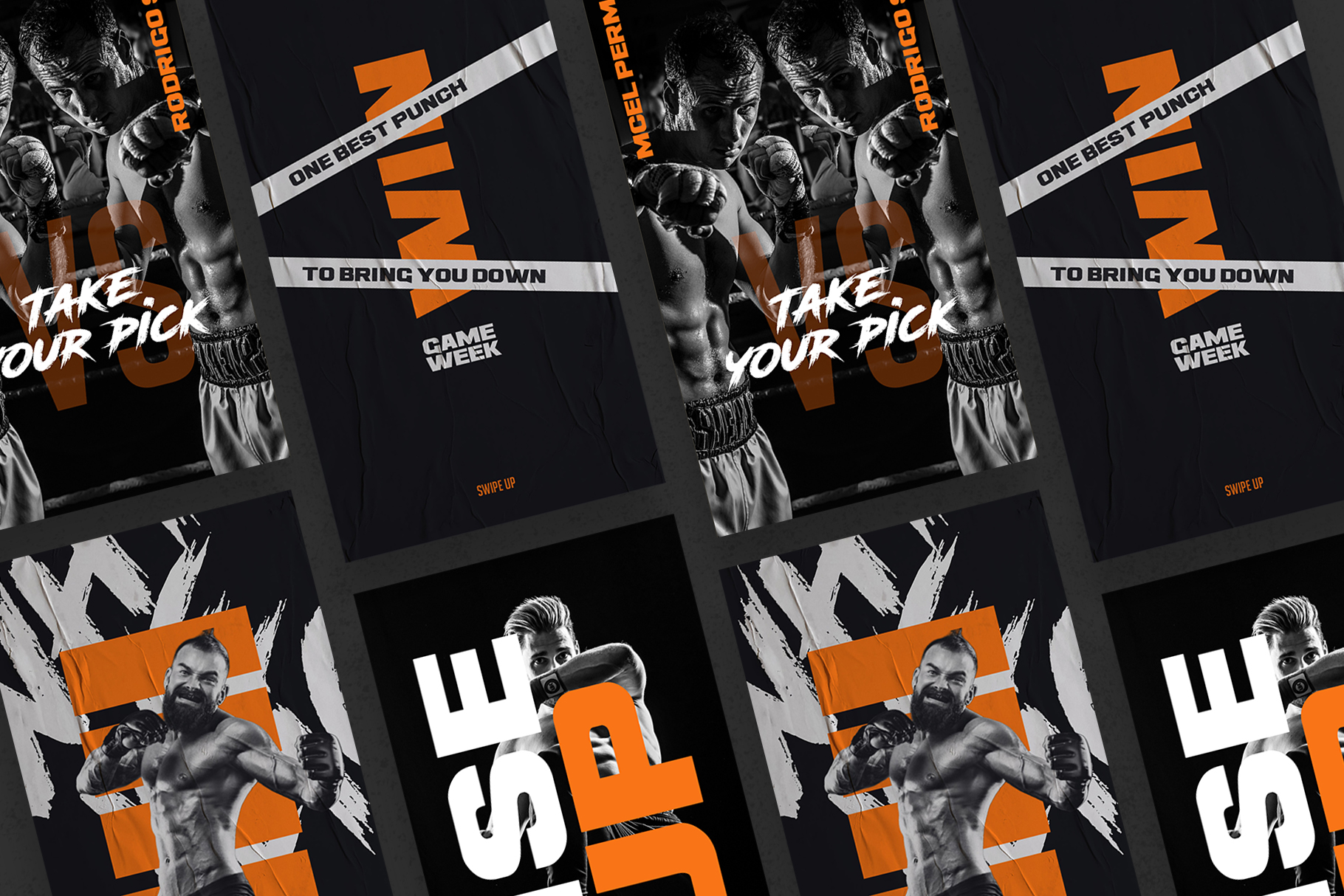 Boxing Instagram Templates example image 9
