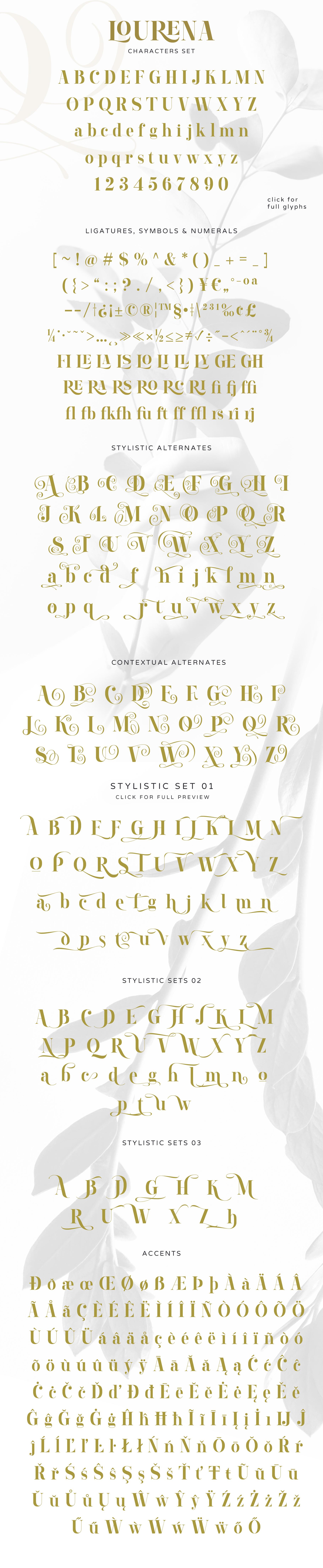 Lourena Typeface example image 9