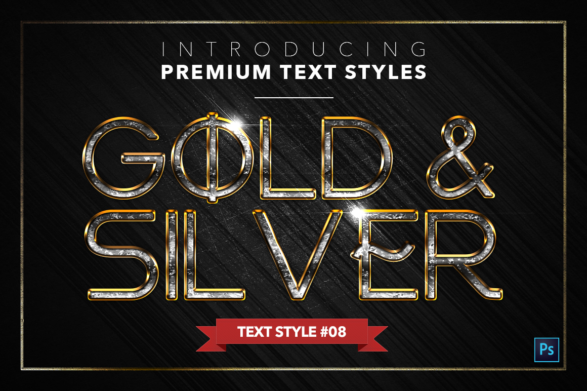 Gold & Silver #5 - 15 Text Styles example image 9