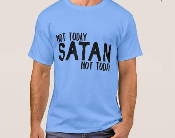 Not Today Satan SVG Cutting File -Not today Satan SVG file example image 2